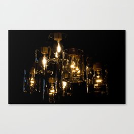 Light and Design Canvas Print