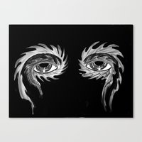 tool Canvas Prints featuring Tool eyes by SnowVampire