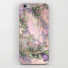 Freeform Garden iPhone Skin