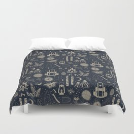 Into the Woods: Stargazing Duvet Cover