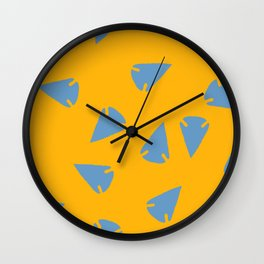 ARROWHEADS-GOLD Wall Clock