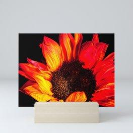 Burst of flames Mini Art Print