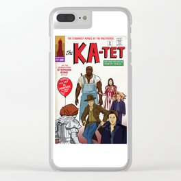 The Ka-Tet comic book cover Clear iPhone Case