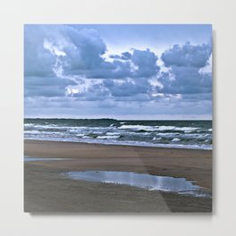 Wild Romo Beach in Denmark Metal Print