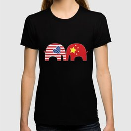 U.S.-China Friendship Elephants T-shirt