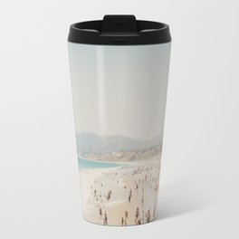 summer time in Santa Monica ... Travel Mug