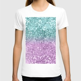 Mermaid Girls Glitter #6 #shiny #decor #art #society6 T-shirt