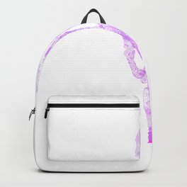 Abstract Creepy Skeleton Hand Backpack