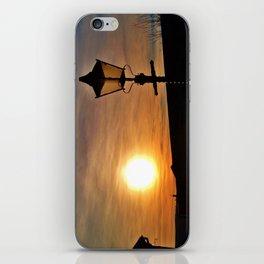 SUNSET AT DISUSED RAILWAY STATION DEVON iPhone Skin