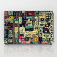 sticker iPad Cases featuring sticker by gzm_guvenc