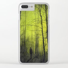 scene from a nightmare Clear iPhone Case