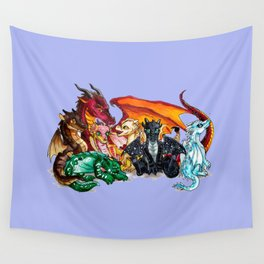 wings of fire Wall Tapestry