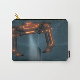 The Grid (Tron: Legacy) Travel Poster Carry-All Pouch