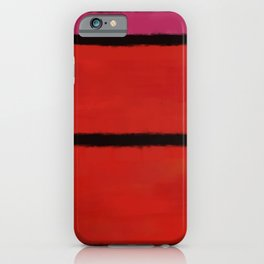 Rothko Inspired #22 iPhone Case