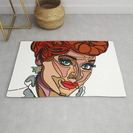 I Love Lucy Rug