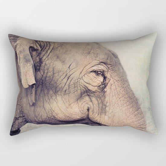 The smiling Elephant Rectangular Pillow