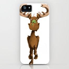 Moose Named Moe iPhone Case