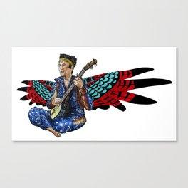 Sufjan with wings Canvas Print