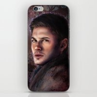 winchester iPhone & iPod Skins featuring Dean Winchester by Jackie Sullivan
