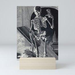Day Of The Dead - Vintage Art Print Mini Art Print