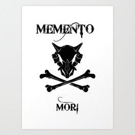 Cubone: Memento Mori Art Print