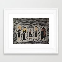 coven Framed Art Prints featuring Coven by Snoopy'sPainter