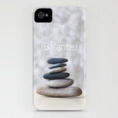 Life in Balance Slim Case iPhone (4, 4s)