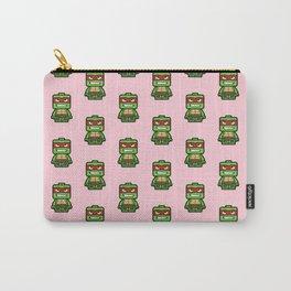 Chibi Raphael Ninja Turtle Carry-All Pouch