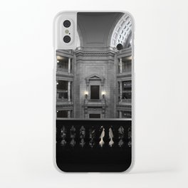 Beauty in a Building Clear iPhone Case