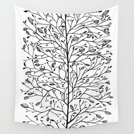 Branches and Buds Wall Tapestry