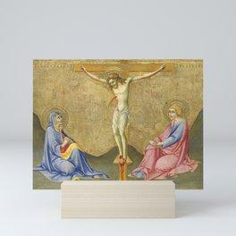 Sano di Pietro - The Crucifixion Mini Art Print