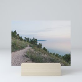 Trail Along the Dunes Mini Art Print