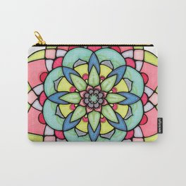 Peaceful Mandala Carry-All Pouch