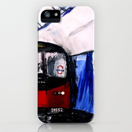 London Underground Northern Line Fine Art iPhone Case