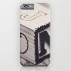 Toy cube... Monochrom Slim Case iPhone 6s