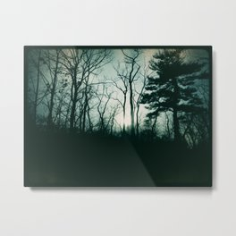 Gothic Forest Metal Print