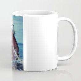 Boat in Tow Coffee Mug