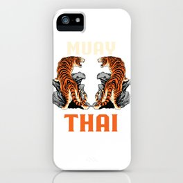 Muay Thai Tigers iPhone Case
