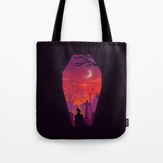 To The Grave Tote Bag