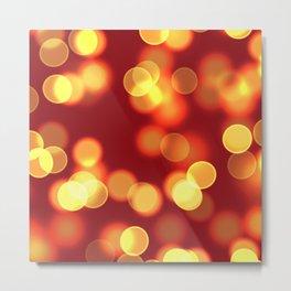 Soft lights Bokeh 4 Metal Print