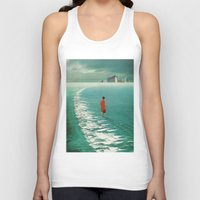 cities Tank Tops featuring Waiting For The Cities To Fade Out by Frank Moth
