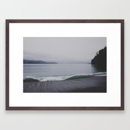 Curl Framed Art Print