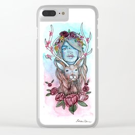 Dearly Beloved Clear iPhone Case