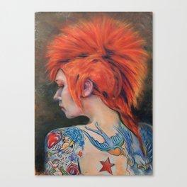 Punk #1 Canvas Print