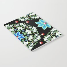 Folkloric Lily Medallion Notebook