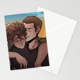 Sunset at the Barns Stationery Cards