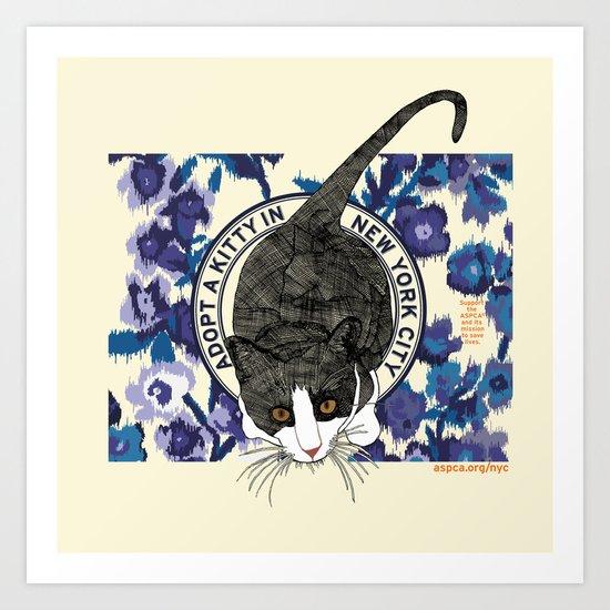 ASPCA® New York Cat Adoption Benefit Proposal Art Print
