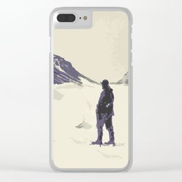 Winter's best friends Clear iPhone Case