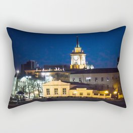 Night town Rectangular Pillow