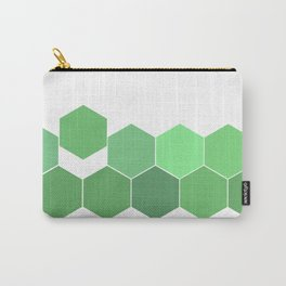 "Hexagon ""die grünen Waben"" Carry-All Pouch"